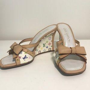LV heels Vintage